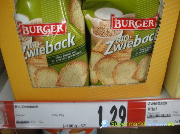 Foto von Burger Bio Zwieback