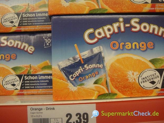 Foto von Capri Sonne Orange 10-er Pack