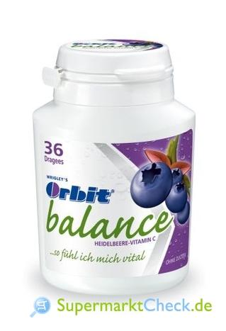 Foto von Wrigley Orbit Balance Dose