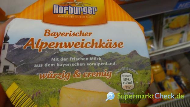 Foto von Hofburger Bayerischer Alpenweichkäse