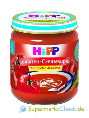 Foto von Hipp Tomaten-Cremesuppe Komplette Mahlzeit