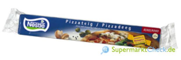 Foto von Nestle Pizzateig