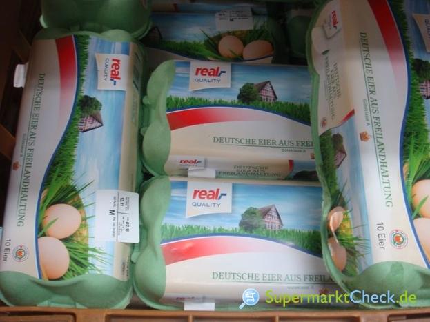Foto von real Quality Deutsche Eier