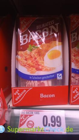 Foto von gut & günstig Bacon