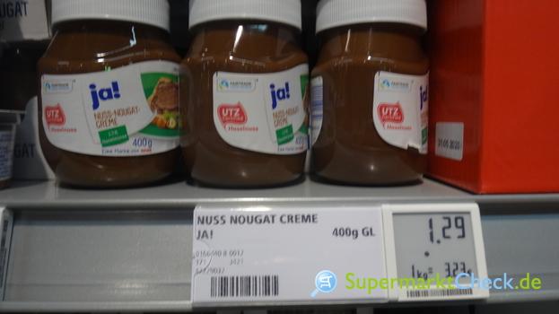 Foto von Ja! Nuss-Nougat-Creme