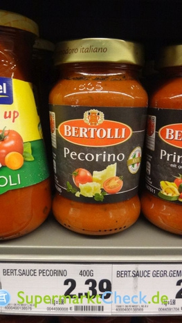 Foto von Bertolli Pasta Classico Sauce