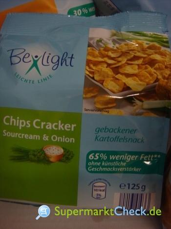 Foto von Be Light  Chips Cracker