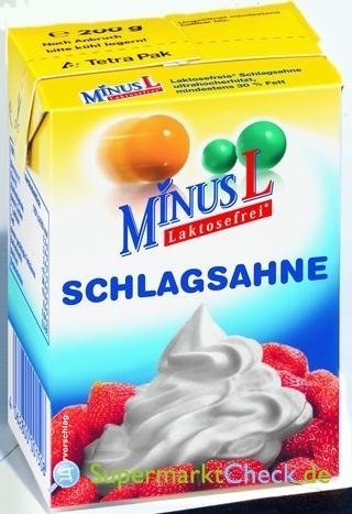 Foto von MinusL Laktosefrei Schlagsahne
