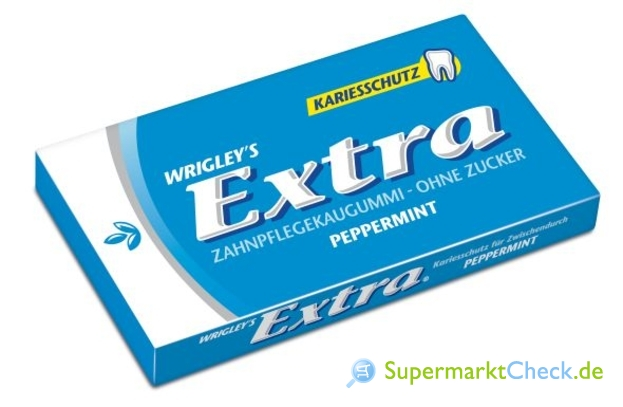 Foto von Wrigleys Extra Peppermint Einzelpack