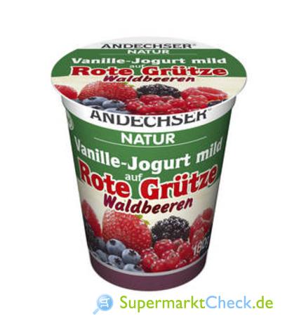 Foto von Andechser Natur Vanille-Jogurt