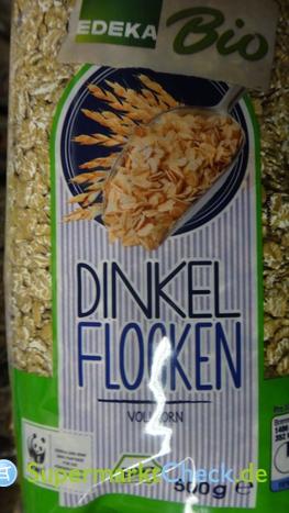 Foto von Edeka Bio Dinkel Flocken Vollkorn