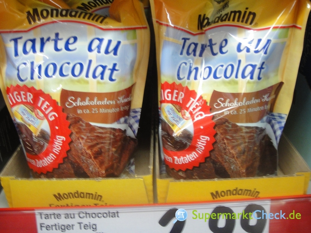Foto von Mondamin Tarte au Chocolat