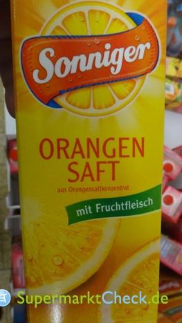 Foto von Sonniger Orangensaft