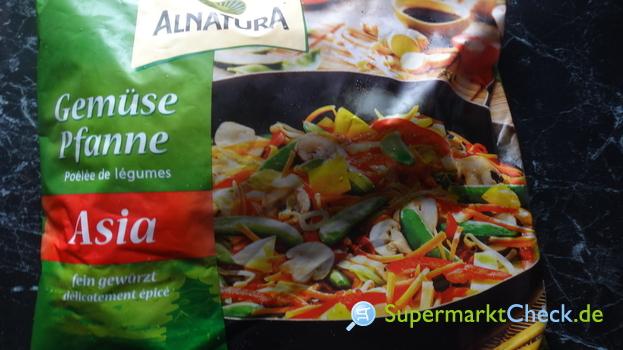Foto von Alnatura Bio Gemüse Pfanne