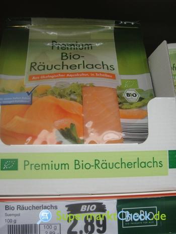 Foto von BioBio Premium Bio Räucherlachs