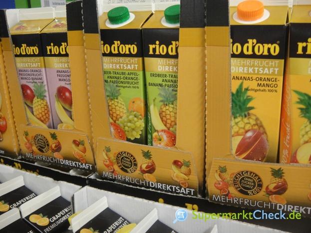 Foto von rio d oro Mehrfrucht Direktsaft