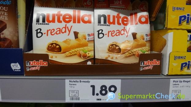 Foto von Nutella B-ready