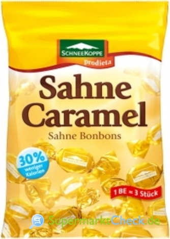 Foto von Schneekoppe Feine Sahne-Caramel-Bonbons