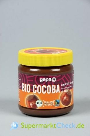 Foto von Gepa  Bio Cocoba Nuss Nougat Creme