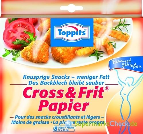 Foto von Toppits Cross & Frit-Papier