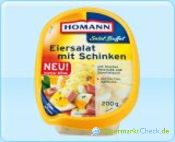 Foto von Homann Salat Buffet Eiersalat mit Schinken