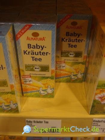 Foto von Alnatura Baby-Kräuter-Tee