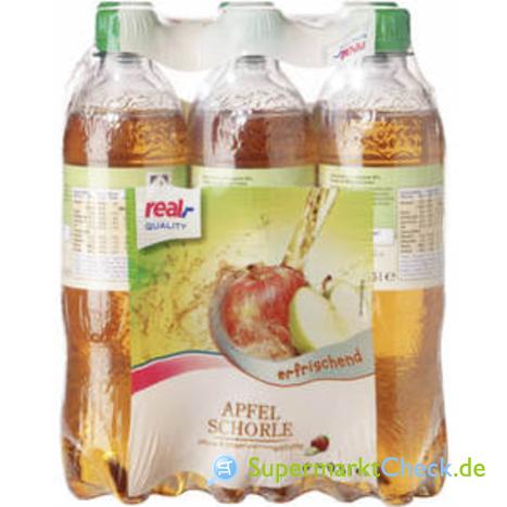 Foto von real Quality Apfelschorle 6-er