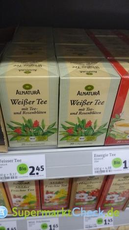 Foto von Alnatura Weißer Tee