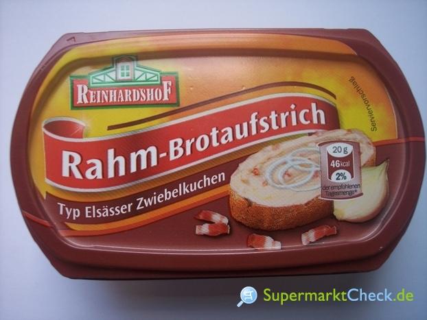 Foto von Reinhartshof Rahm Brotaufstrich