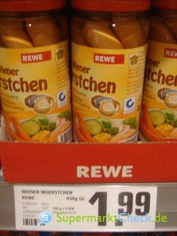 Foto von REWE Beste Wahl Wiener Würstchen