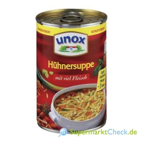 Foto von Unox Konzentrierte Suppen Hühnersuppe