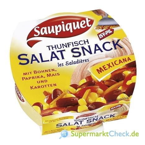 Foto von Saupiquet Thunfisch Salat Snack