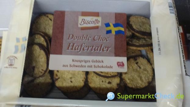 Foto von Biscotto Hafertaler Double Choc Schwedengebäck