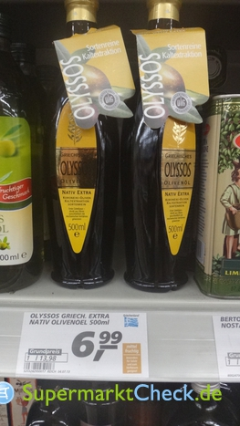 Foto von Olyssos Griechische Olivenöl 1 Kaltpressung
