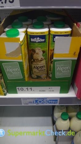Foto von Bergader frische Alpen Milch