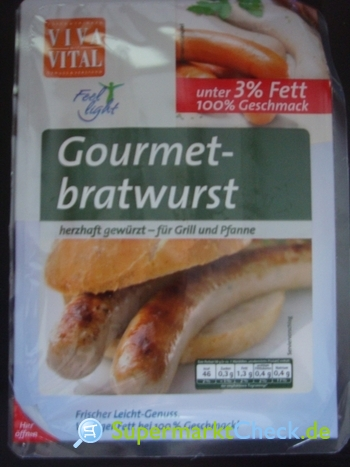 Foto von Viva Vital Gourmet Bratwurst