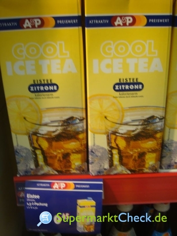 Foto von A&P Cool Ice Tea
