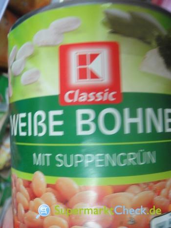 Foto von K Classic Weiße Bohnen mit Suppengrün