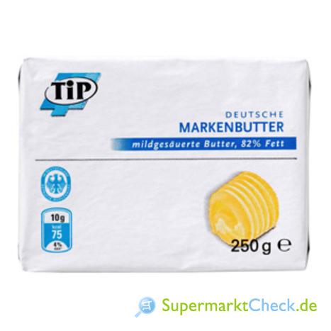Foto von Tip Deutsche Markenbutter