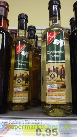 Foto von gut & günstig Condimento Balsamico Bianco