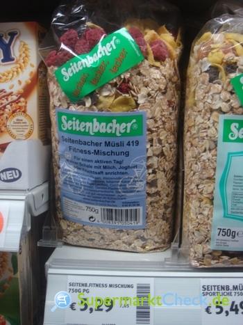 Foto von Seitenbacher Müsli 419