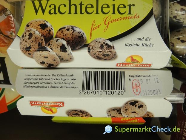 Foto von Nestlerfarm Wachteleier