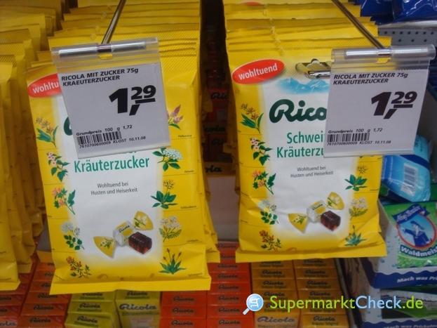 Foto von Ricola Schweizer Kräuter Halsbonbon