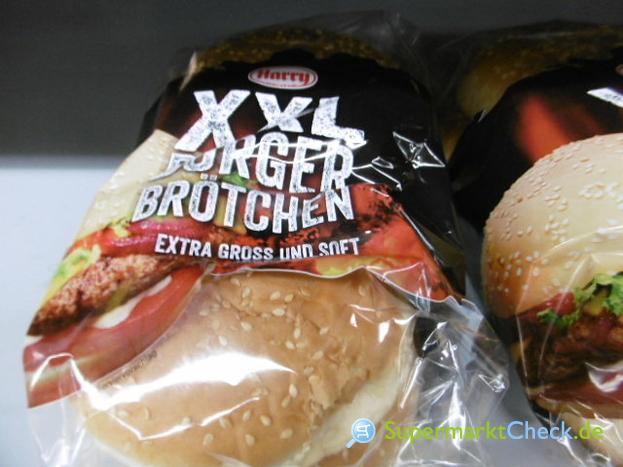 Foto von Harry XXL Burger Brötchen