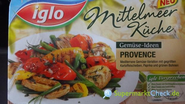 Iglo Mittelmeerküche Gemüseideen Provence: Nutri-Score..