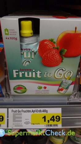 Foto von Servero Fruit to go