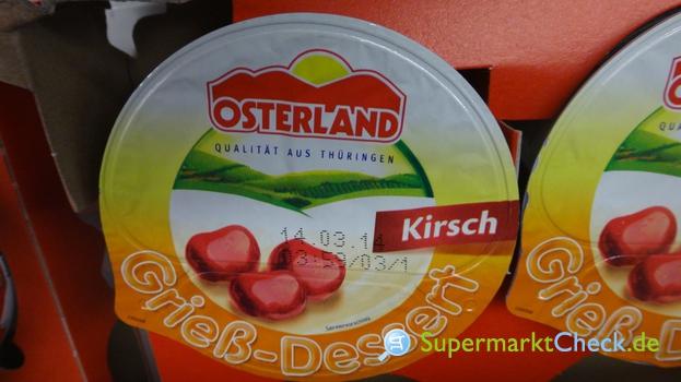 Foto von Osterland Grieß Dessert