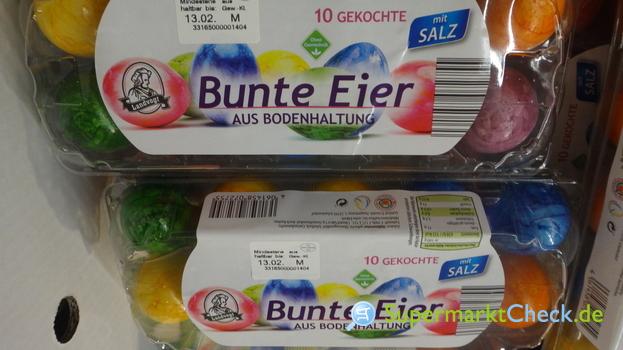 Foto von Landvogt Bunte Eier gekocht