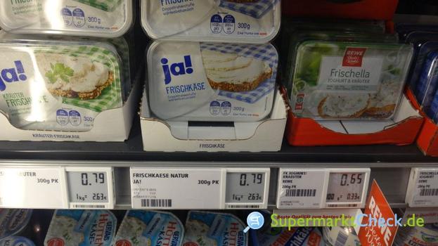 Foto von Ja! Frischkäse