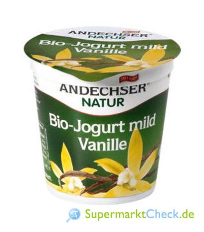 Foto von Andechser Natur Bio-Jogurt mild